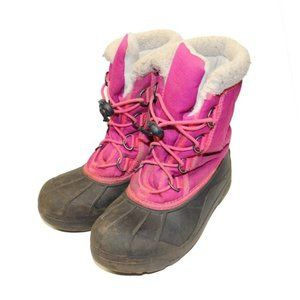 Sorel Pink Cumberland Waterproof Winter Snow Boots